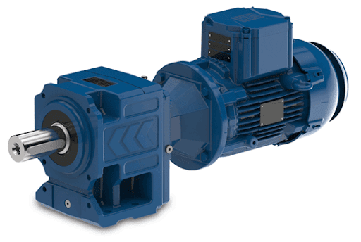 An Assembled Explosion Proof Motor with gearbox